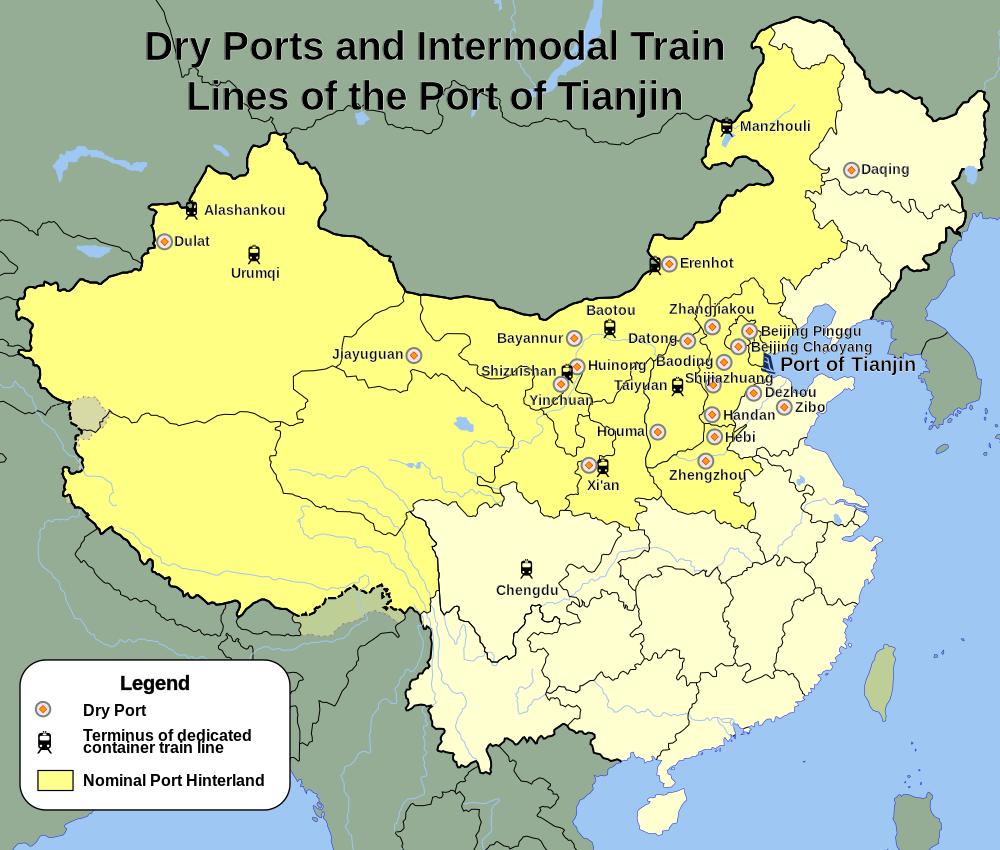 Tianjin Port Network